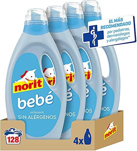 NORIT Bebé - Detergente Líquido para Ropa de Bebé, Pieles...
