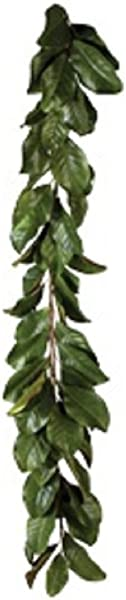 American Best Magnolia 5 Garland Or 28 Magnolia Wreath In All Green Leaves Or Mixed Burgundy And Green Leaves Buyers Choice Green Garland