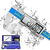 Pie de Rey, Orthand Calibre Digital 150mm Acero Inoxidable con Alto Precisión...