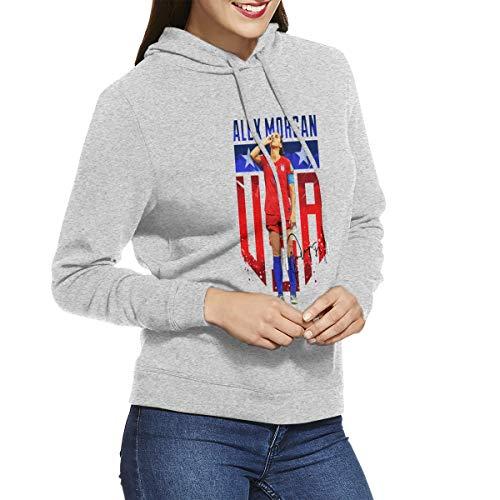 Alex Morgan Sipping Fashion Women's Long Sleeve Hoodie Sweatshirt Jacket Women's Hoodies