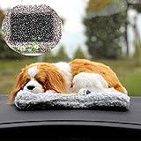 Xshelley carbón activado natural purificación de aire carbón de bambú perro utilizado para coche, escritorio, sala de estar, armario, carbón de bambú perro decoración (perro Charlie)