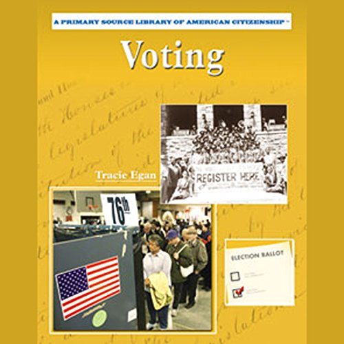 Voting audiobook cover art
