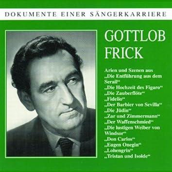 Dokumente einer Sängerkarriere - Gottlob Frick
