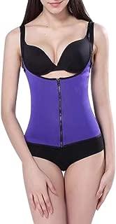 RONSHIN MeterMall Women's Zippered Waist Trainer Vest Tummy Control Sport Workout Body Shaper Corset