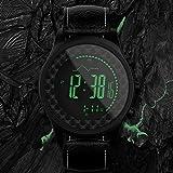 Reloj de Pulsera Smartwatch Relojes Mecánicos Reloj de Zafiro Reloj de Cuarzo con Brújula Al Aire Libre Barómetro de Pesca Montañismo Altura Temperatura Multifunción Deportes Reloj Inteligente Reloj