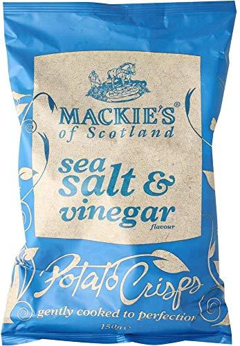 マッキーズ シーソルト&ビネガー 40g イギリスのスナック 輸入スナック 海外スナック 英国のポテトチップス 輸入菓子