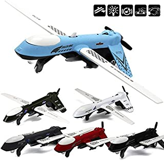 CORPER TOYS Aircraft Toy Die-cast Alloy Metal Model Plane Air Force Attack Airplane Pull Back Toy with Lights and Sounds Gifts for Kids Boys Girls Children