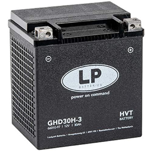Landport HD Gel Batterie GHD30H-3 (YHD30HL-BS) 66010-97A 12V/30AH/CCA 430A
