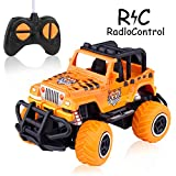 SLHFPX  Birthday Gifts for Boy Age 3 4 5 6 7,Electric Race Car RC Truck RC Trucks 4X4 Off Road Waterproof Toys...