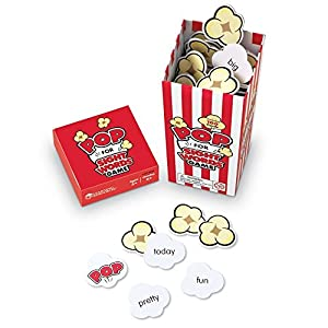 Popcorn game to learn the sight words