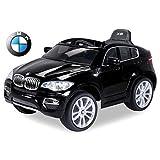 Voiture électrique 12V BMW X6 Noire - Pack Luxe