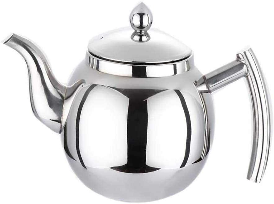Today's only 0.8 Stainless Trust Steel Loose Tea Pot Infuser Filter Strainer Kettle