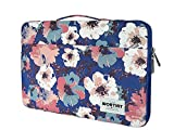 WORTINT Laptop Bag Sleeve Protective Case Cover Water Resistant Shockproof Briefcase Multifunctional Carrying Bag for All Laptops, Notebooks, Ultrabooks, Netbooks. (13.3 Inch Camellia)
