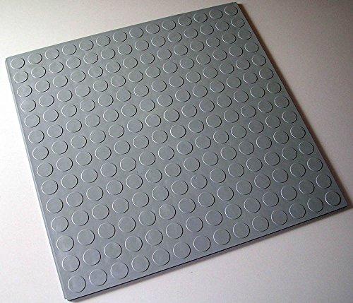 4 St.(1qm) Nopflex WerkstattBoden PVC IndustrieBoden BodenPlatten grau