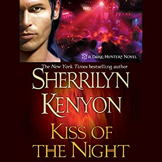 Kiss of the Night     A Dark-Hunter Novel              By:                                                                                                                                 Sherrilyn Kenyon                               Narrated by:                                                                                                                                 Fred Berman                      Length: 10 hrs and 37 mins     1,401 ratings     Overall 4.6