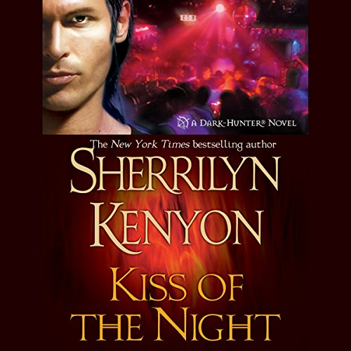 Kiss of the Night     A Dark-Hunter Novel              Written by:                                                                                                                                 Sherrilyn Kenyon                               Narrated by:                                                                                                                                 Fred Berman                      Length: 10 hrs and 37 mins     10 ratings     Overall 4.7