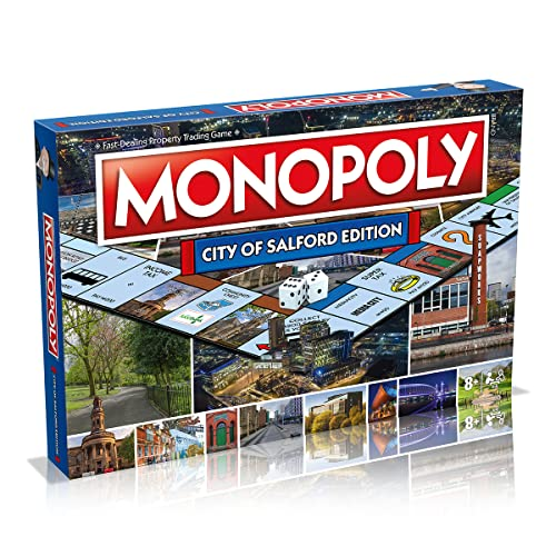 Salford Monopoly Board Game