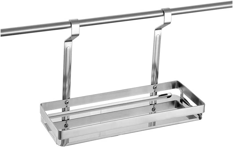 Marie Kitchen Spice Rack Special price for a limited time Mesa Mall Organizer Rod Remova Hanging 400mm with