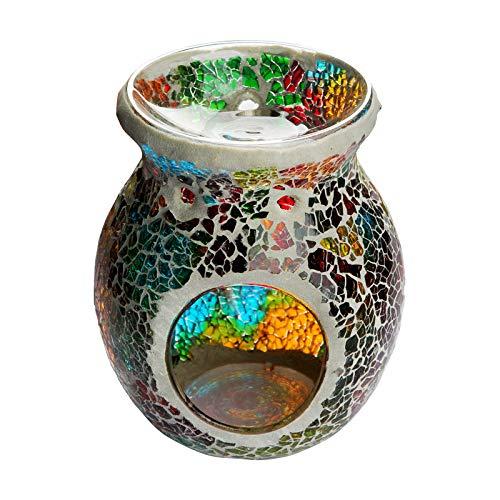 Quemador De Esencias,quemadores Cera Lámpara Aromaterapia Decoración Candelabro Vidrio Lámpara Aceite Para Uso Doméstico