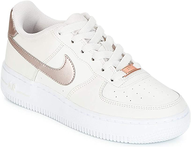 Nike Air Force 1 (GS), Scarpe da Ginnastica Bambina