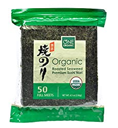 ONE Organic Sushi Nori on Amazon