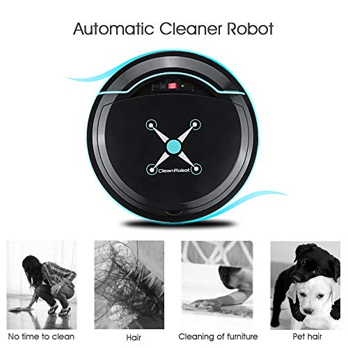 Lowest Prices! Lucky star ZLY Robot Vacuum Cleaner, USB Household Automatic Vacuum Cleaner Waterproo...
