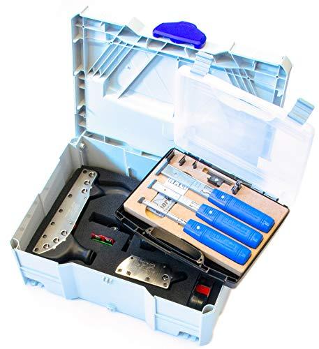 Systainer Rali 220 Exclusive - Juego completo de cepilladores de mano y tijeras