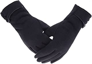 Tomily Womens Touch Screen Phone Fleece Windproof Gloves Winter Warm Wear