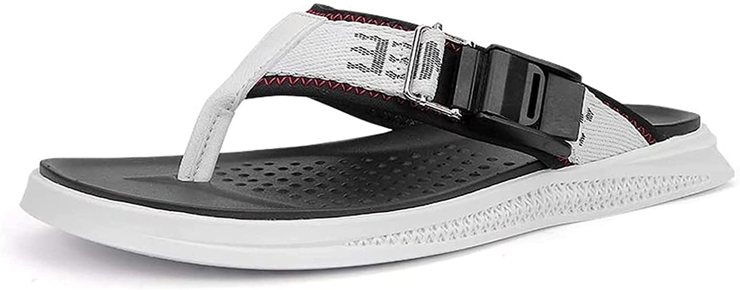 Our shop OFFers the best service YUESFZ Beach Slippers Men's Comfortable Summer Flip Outdoo Super special price Flops