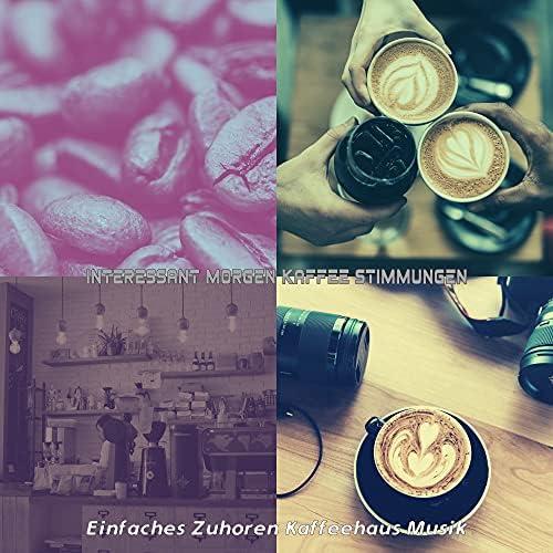 Einfaches Zuhoren Kaffeehaus Musik