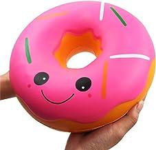 Cadeau de Jouet de P/âques !! Beisoug Squishy Squeeze Anti-Stress Doux Color/é Donut Parfum/é Ralentissant Jouets