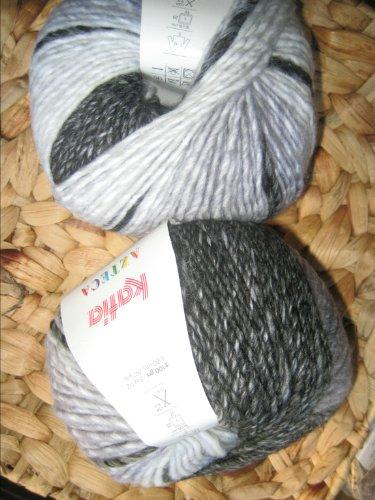 Katia Azteca 7801 schwarz-weiß 100g Wolle