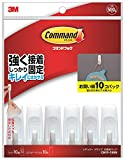 ジャパン(3M) コマンドフックお買得パックSサイズ 1Pk(袋)フック10個タブ10枚 CM99-10HN 276-7970