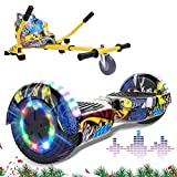 """MARKBOARD Patinete Eléctrico 6.5"""" con Hoverkart Hoverboards Scooter Auto-..."""
