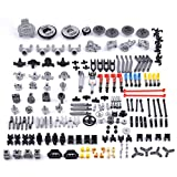 PeleusTech DIY Technic Parts Engine Suspension Parts for Technics, Technic Vehicle - Compatible with All Major Brands