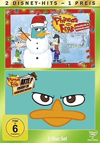 Phineas und Ferb: Schnabeltier in Geschenkpapier / Akte X: Perry in geheimer Mission