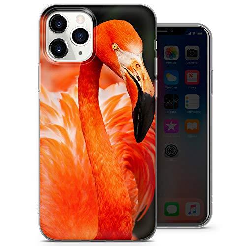 Carcasa protectora para iPhone 7+, diseño de pájaros acuáticos y flamencos D009, diseño 3