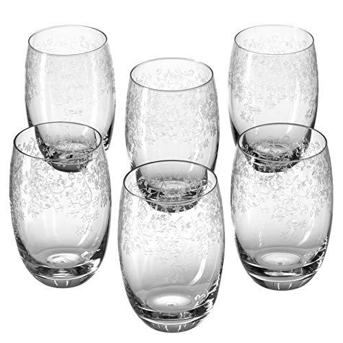 Leonardo Chateau Becher groß, 6-er Set, 460 ml, spülmaschinenfest, Teqton-Kristallglas, 061593