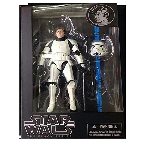 Star Wars The Black Series Figur Darth Maul Vader Figur Phasma PVC Actionfigur Sammlerstück Spielzeug 17cm-C im Karton