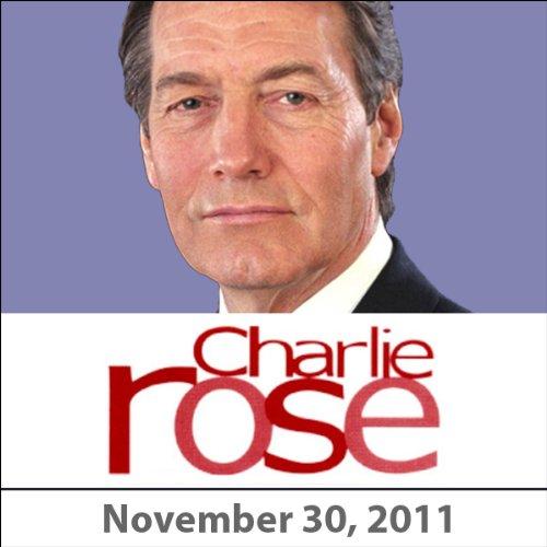 Charlie Rose: Gen. Jim Jones and Antonio Villaraigosa, November 29, 2011 audiobook cover art