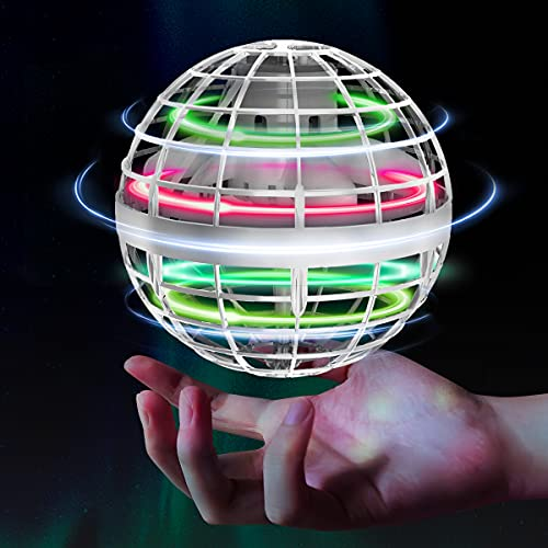 Flying Orb Ball Toys Soaring Hover Pro Boomerang Spinner Hand Controlled Mini Drone Globe Shape...