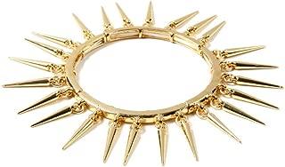 Amrita Singh Thin Spikes Bracelet Gold