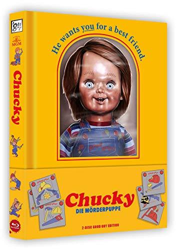 Chucky - Die Mörderpuppe - 2-Disc Good Guy Edition Mediabook (wattiert)
