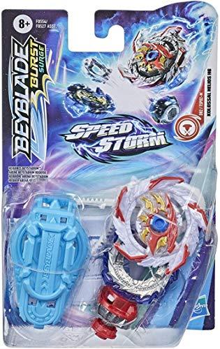 Beyblade Burst Surge Speedstorm Starter Packs F0554 - Set lanciatore + trottola Kolossal Helios H6