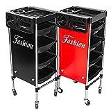 XYSQWZ Multiusos 5 Niveles Rolling Storage Salon Carrito SPA