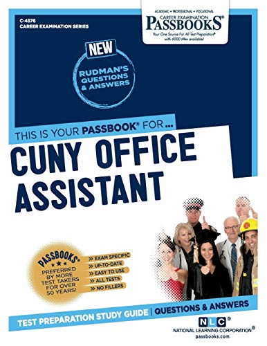 CUNY Office Assistant (Career Examination Series)