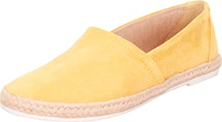 Cambridge Select Women's Round Toe Slip-On Espadrille Flat