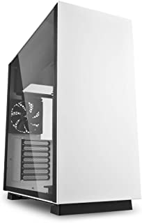 Sharkoon PURE STEEL - Caja de Ordenador, PC Gaming, Semitorre ATX, Blanco