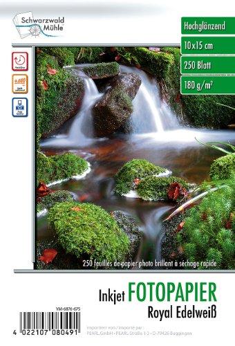 Schwarzwald Mühle Fotokarton: 250 Bl. Hochglanz-Fotopapier