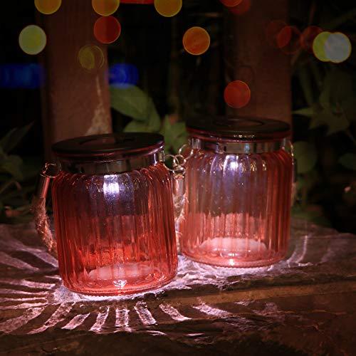lámpara jardín led frasco de la marca Afirst